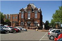 SK3950 : Town Hall, Ripley by David Long
