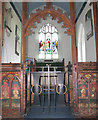 TG2902 : St Mary's church - the chancel by Evelyn Simak