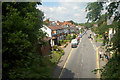 SP0073 : Hewell Road from the Redditch train by Row17