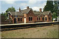 SK3281 : Dore & Totley Station, from a Sheffield-bound train by David Long