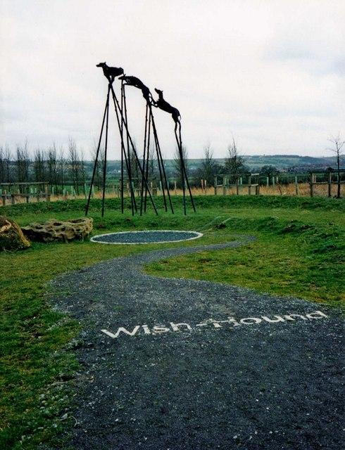 Wish-Hounds, Croft Wood, Swindon