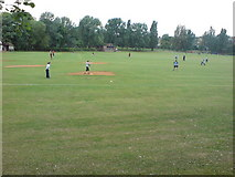 TQ3187 : Finsbury Park Softball and Baseball Field by Danny P Robinson