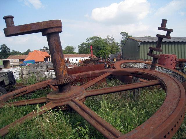 Steam Graveyard at Preston Court Farm
