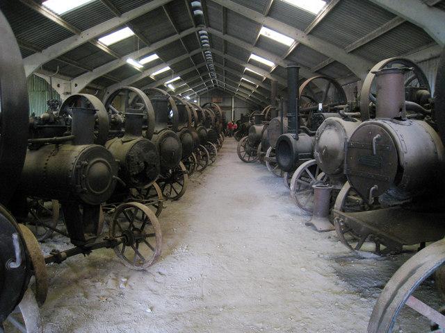 Steam Engines at Preston Court Farm