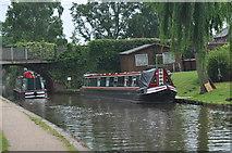 SK1705 : Two narrowboats at Hopwas by John Carver
