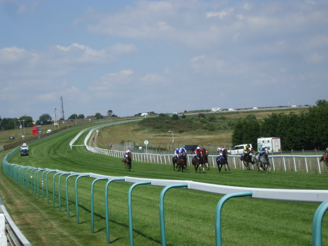 Brighton racecourse above Whitehawk