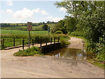 ST7701 : Melcombe Bingham: ford over Devil's Brook by Chris Downer