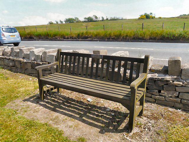 Eddie Wrigley's Bench