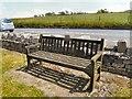 SD9601 : Eddie Wrigley's Bench by Gerald England