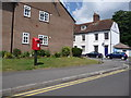 ST8806 : Blandford Forum: postbox № DT11 39, Eagle House Gardens by Chris Downer