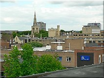 TL0449 : Bedford roofscape, Allhallows (6) by Rich Tea