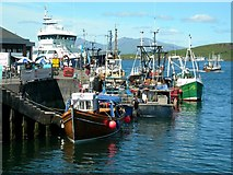 NM8529 : Fishing Boats At Heritage Wharf by Mary and Angus Hogg
