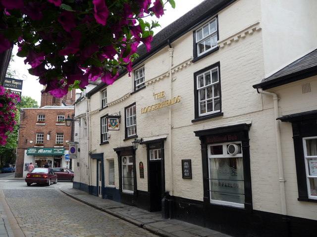 The Loggerheads pub, Shrewsbury
