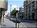 TQ2980 : St James's Street and sign for St James's Place by PAUL FARMER