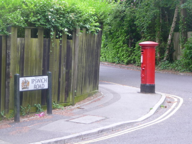 Branksome: postbox № BH12 241, Nelson Road