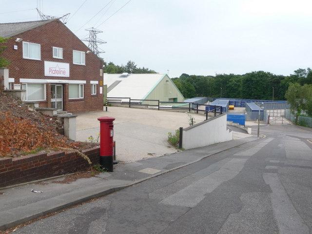 Branksome: postbox № BH12 259, Wolterton Road