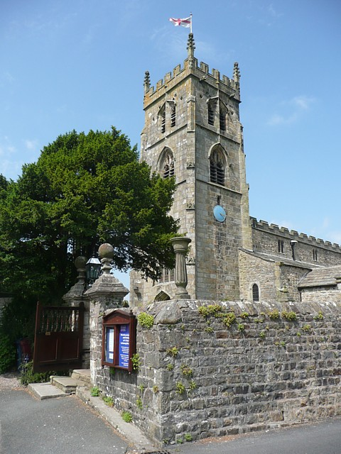 The church of St Peter and St Paul, Bolton by Bowland