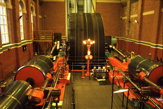 Steam engine, Trencherfield Mill
