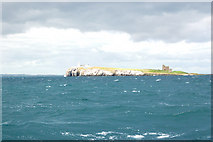NU2135 : Approaching Inner Farne from the south by Andy F