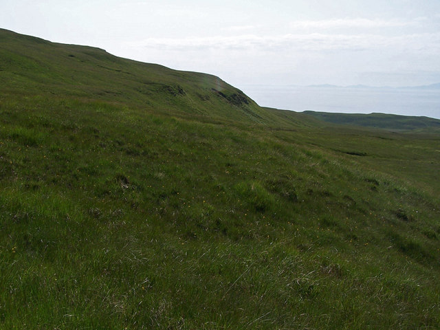 Northern slope of Ben Connan