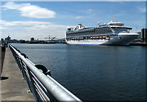 J3576 : The 'Crown Princess' at Belfast by Rossographer
