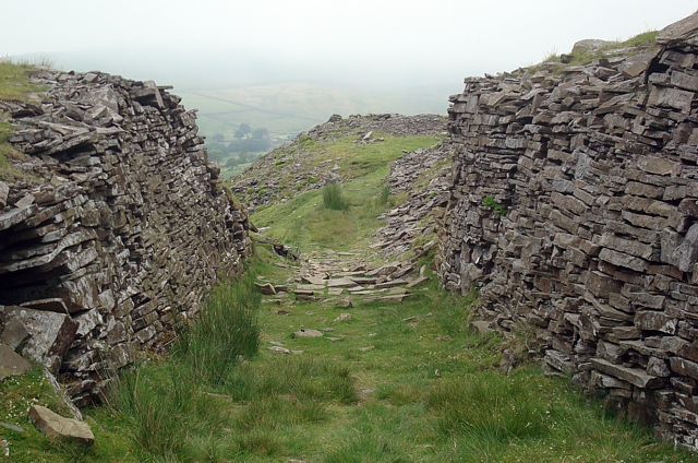 Quarry workings, Stags Fell
