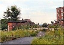SJ9297 : Slate Lane Bridge by Gerald England