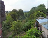 SJ9297 : Abandoned Railway Track by Gerald England