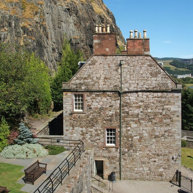 Dumbarton Rock: The Governor's House