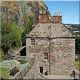 NS4074 : Dumbarton Rock: The Governor's House by Lairich Rig