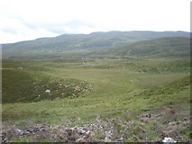 NH4005 : Looking SE from new Estate Road on Carn na Saobhaidhe by Sarah McGuire