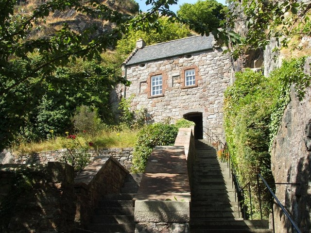 Dumbarton Rock: The Guard House