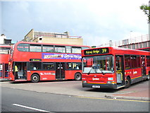 TQ2775 : Man on the Clapham Omnibus by Colin Smith