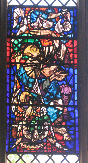 Ervin Bossanyi in St John's College Chapel (2)