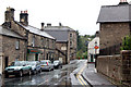 NU0501 : Looking south along Bridge street, Rothbury by Andy F