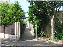 TQ7668 : Footpath on Belmont Road by David Anstiss