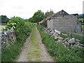 SD7087 : Back Lane, Dent by John S Turner