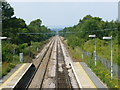 TQ4644 : Railway Track at Hever, Kent by Peter Trimming