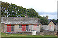 NZ0878 : Kennels and bothy behind Belsay Castle by Andy F