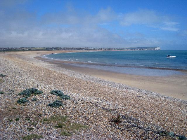 Beach looking towards Seaford
