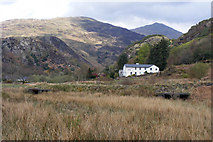 SH5947 : View towards the Bryn Eglwys Hotel by Phil Champion