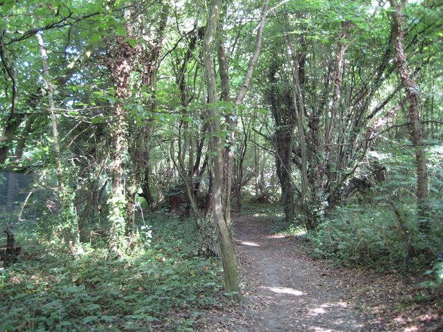 Moor Park: Footpath by Sandy Lodge Golf Club