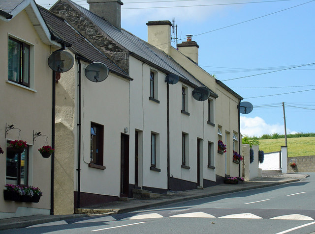 Houses at north end of Kildavin