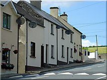 S8860 : Houses at north end of Kildavin by Dylan Moore