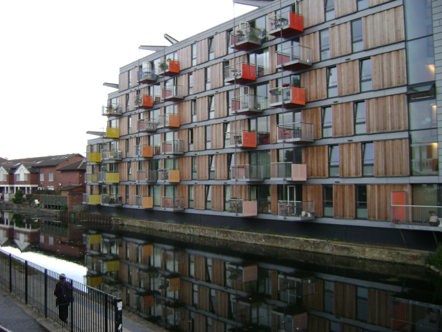 Adelaide Wharf flats, Haggerston, London E2