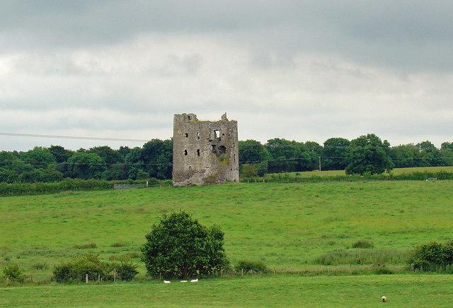 Rattin Castle near Kinnegad, Co. Westmeath