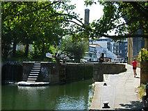 TQ3283 : Sturt's Lock, Regent's Canal by Stephen McKay