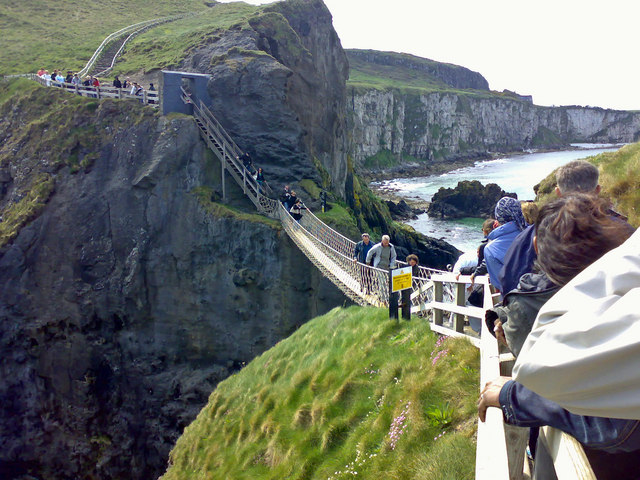 Queue for the Rope Bridge, Carrick-a-rede