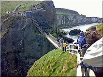 D0644 : Queue for the Rope Bridge, Carrick-a-rede by Dean Molyneaux