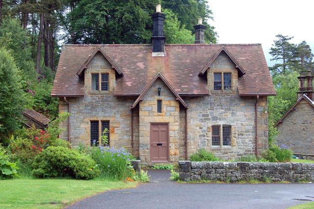 Estate cottage at Cragside